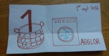Agglor machine à laver