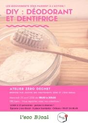 DIY déodorant&dentifrice - communiqué