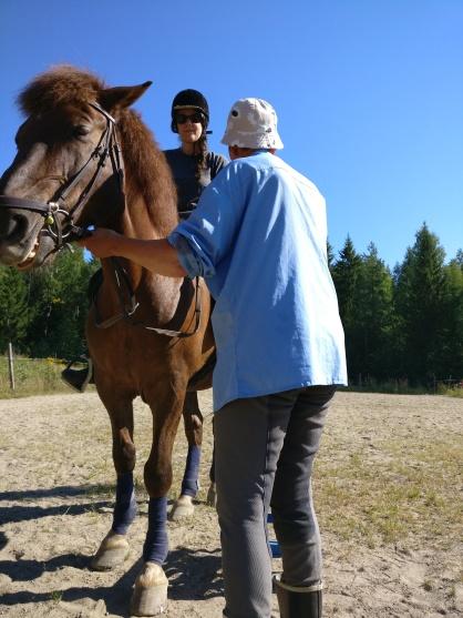 Après 16 ans... à cheval !