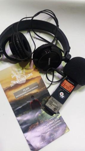 Reportage radio sur le salon du survivalisme