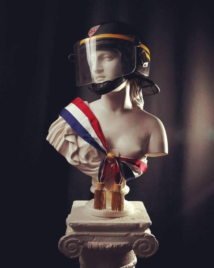 la marianne casquÉe - goin 2016